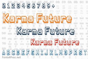 Karma Future Font