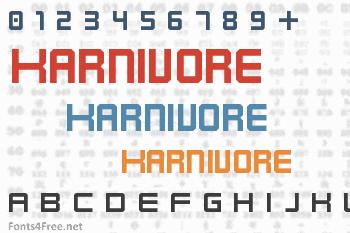 Karnivore Font
