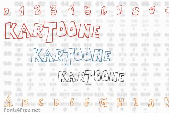 Kartoone Font