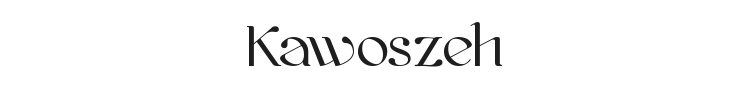Kawoszeh Font Preview