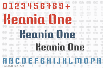 Keania One Font