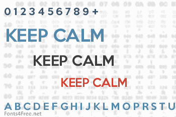 Keep calm font download fonts4free for Keep calm font download