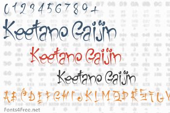 Keetano Gaijin Font
