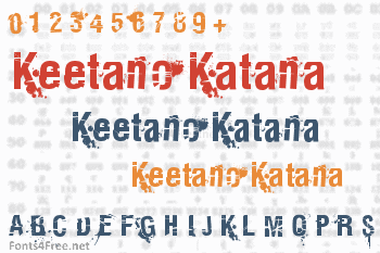 Keetano Katana Font