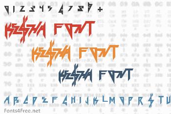 Ke$ha Font