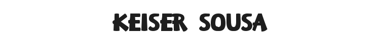 Keiser Sousa Font Preview