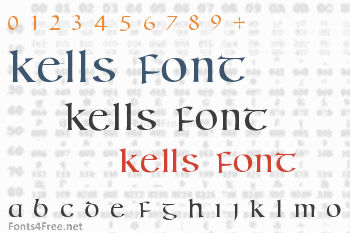 Kells Font