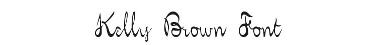Kelly Brown Font