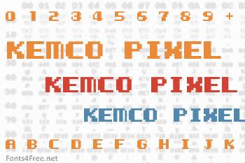 Kemco Pixel Font