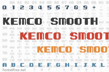 Kemco Smooth Font