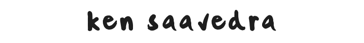 Ken Saavedra Font Preview