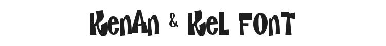 Kenan & Kel Font Preview