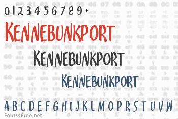 Kennebunkport Font