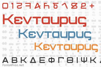 Kentaurus Font