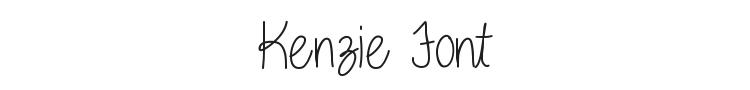 Kenzie Font
