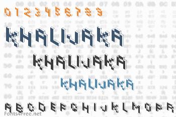 Khalijaka Font