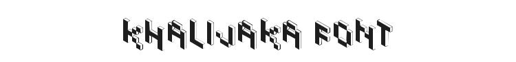 Khalijaka Font Preview