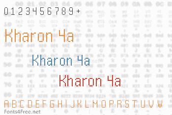 Kharon 4a Font