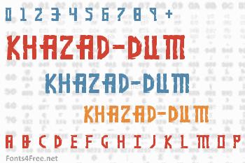 Khazad-Dum Font