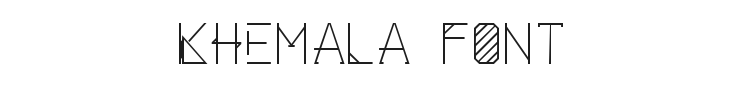 Khemala Font Preview