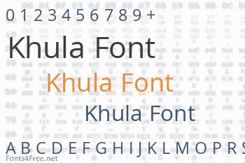 Khula Font
