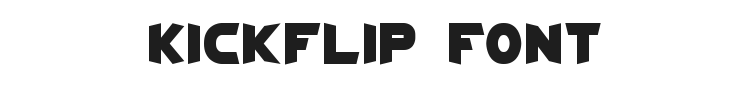 Kickflip Font