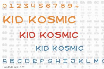 Kid Kosmic Font