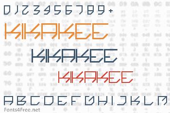 Kikakee Font