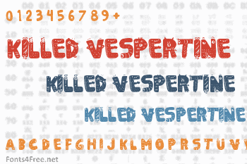 Killed Vespertine Font