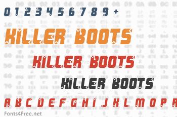 Killer Boots Font