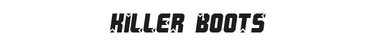 Killer Boots Font Preview
