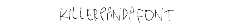 Killerpanda Font Preview