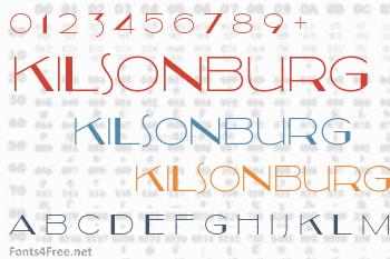 Kilsonburg Font