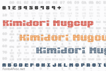 Kimidori Mugcup Font