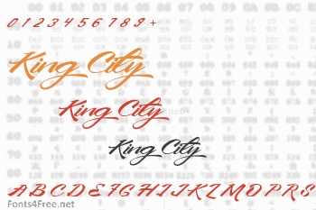 King City Font