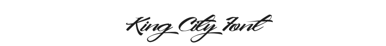 King City Font Preview