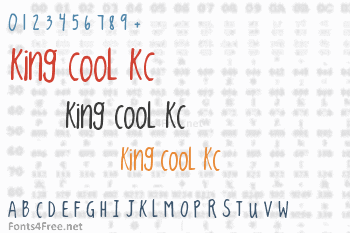 King CooL KC Font