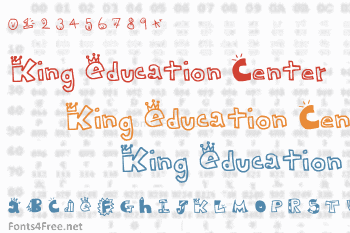 King Education Center Font
