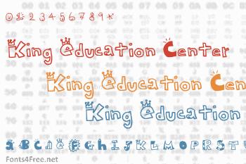 King Education Center Font