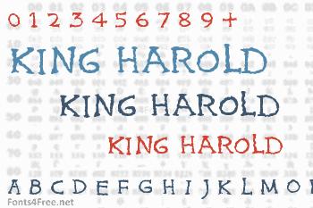 King Harold Font