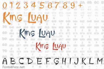 King Luau Font