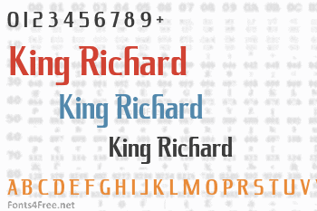 King Richard Font