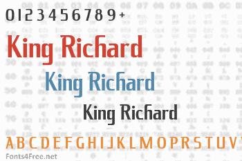 King Richard Font