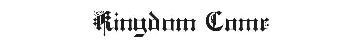 Kingdom Come Font
