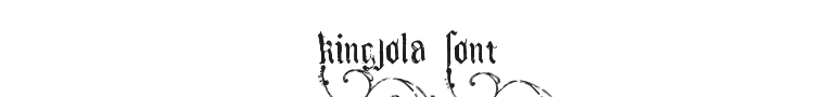 Kingjola Font Preview