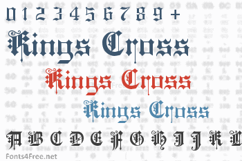 Kings Cross Font