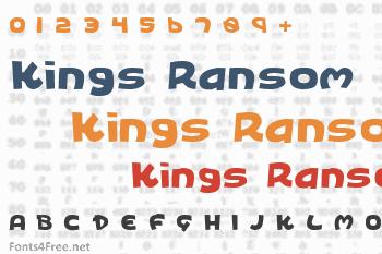Kings Ransom Font