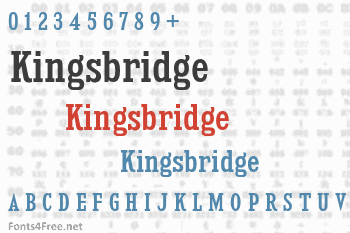 Kingsbridge Font