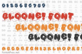 Kingthings Bloone! Font