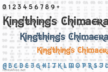Kingthings Chimaera Font